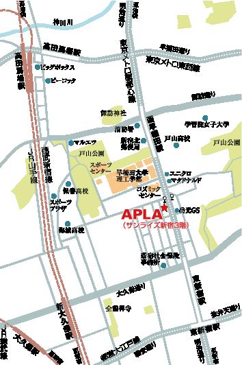 APLA事務所周辺地図